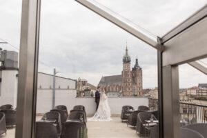 Hotel Stary Wesele na tarasie Kraków