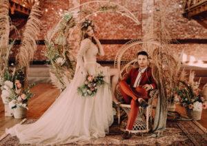 Boho Glamour Wesele Dworzyszcze Wola Cherry Marry Wedding Planner 17