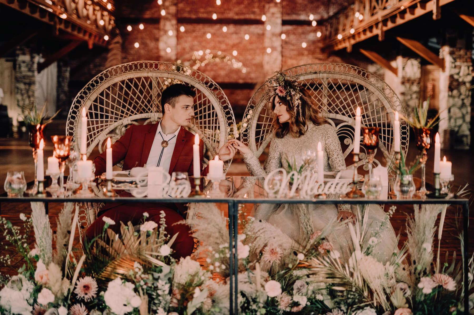 Boho Glamour Wesele Dworzyszcze Wola Cherry Marry Wedding Planner 1